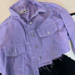 Top shop cropped jacket
